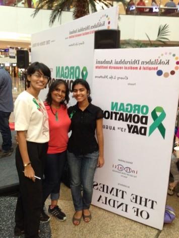 Organ Donation at Raghuleela Mall with Shatayu, TOI, and Ambani Hospital