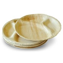 Leaftrend-Ecofriendly-disposable-palm-leaf-plates-wedding-and-party-plates-12-inch-Round-3-Partition-Palm-Plate-10-PCS-0-0